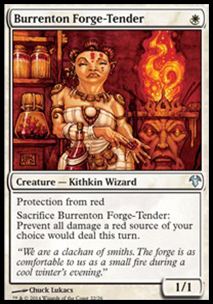 Burrenton Forge-Tender, Modern Event Deck 2014