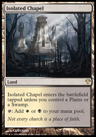 Isolated Chapel, Modern Event Deck 2014