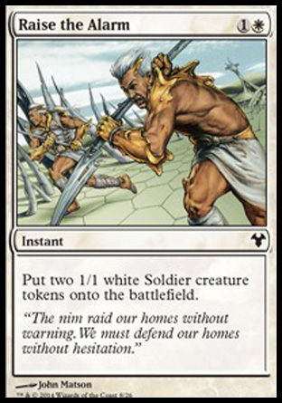 Raise the Alarm, Modern Event Deck 2014