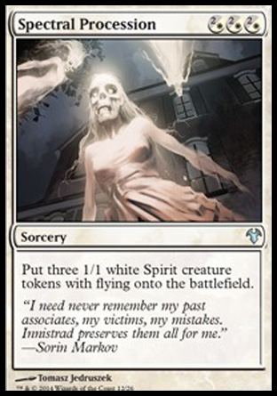 Spectral Procession, Modern Event Deck 2014