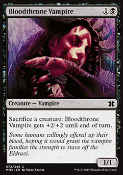 Bloodthrone Vampire, Modern Masters 2015