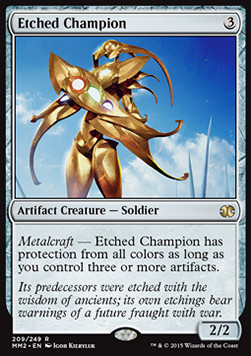 Etched Champion, Modern Masters 2015
