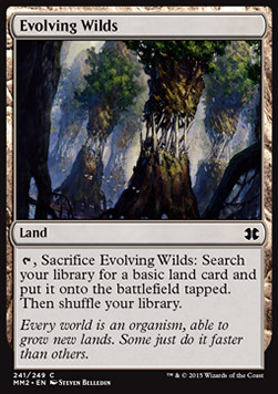 Evolving Wilds, Modern Masters 2015