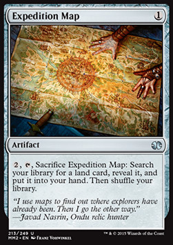 Expedition Map, Modern Masters 2015