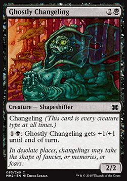Ghostly Changeling, Modern Masters 2015