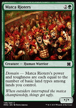 Matca Rioters, Modern Masters 2015