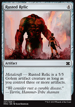Rusted Relic, Modern Masters 2015