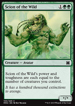 Scion of the Wild, Modern Masters 2015