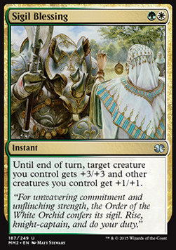 Sigil Blessing, Modern Masters 2015