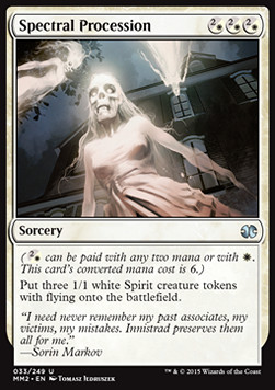 Spectral Procession, Modern Masters 2015