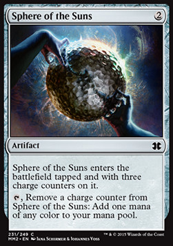 Sphere of the Suns, Modern Masters 2015