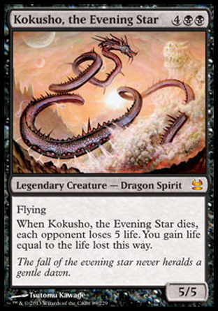 Kokusho, the Evening Star, Modern Masters