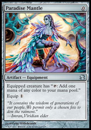 Paradise Mantle, Modern Masters
