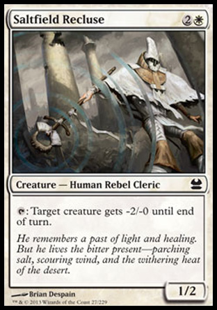 Saltfield Recluse, Modern Masters
