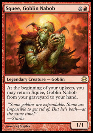 Squee, Goblin Nabob, Modern Masters