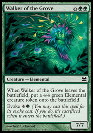 Walker of the Grove, Modern Masters