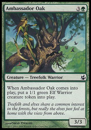 Ambassador Oak, Morningtide