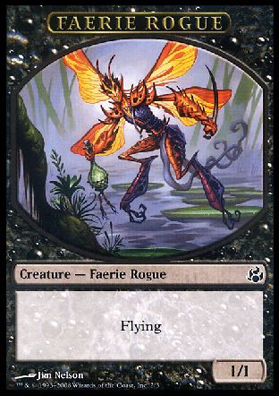Faerie Rogue token, Morningtide