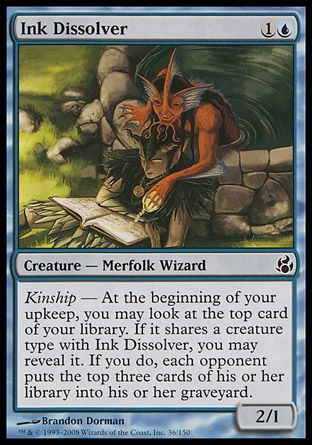 Ink Dissolver, Morningtide