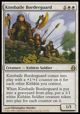 Kinsbaile Borderguard, Morningtide