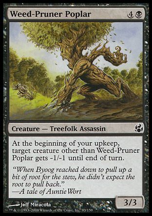 Weed-Pruner Poplar, Morningtide