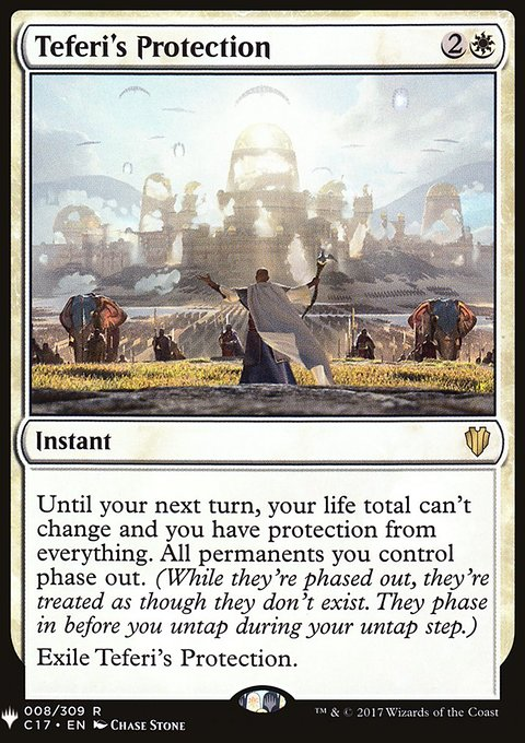 Teferi's Protection, Mystery Booster