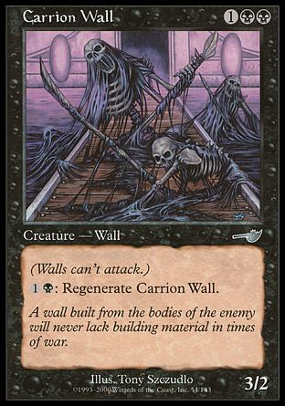 Carrion Wall, Nemesis