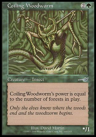 Coiling Woodworm, Nemesis