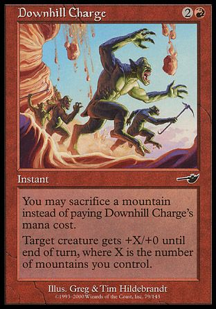Downhill Charge, Nemesis