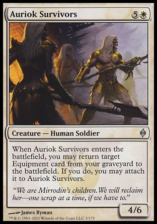 Auriok Survivors, New Phyrexia
