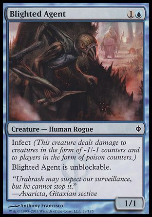 Blighted Agent, New Phyrexia