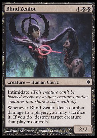 Blind Zealot, New Phyrexia