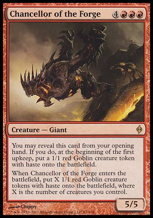 Chancellor of the Forge, New Phyrexia