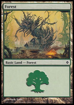 Forest, New Phyrexia