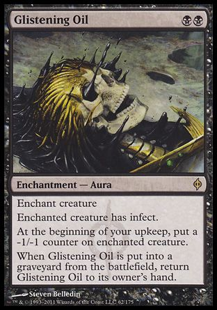 Glistening Oil, New Phyrexia