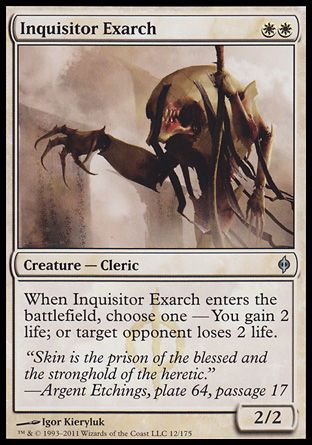 Inquisitor Exarch, New Phyrexia