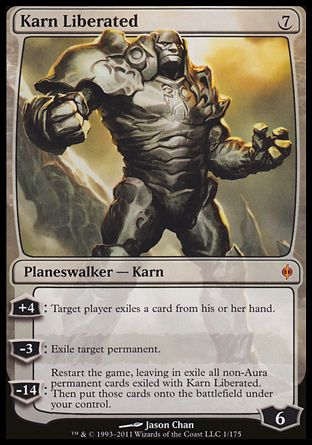 Karn Liberated, New Phyrexia