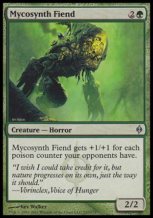 Mycosynth Fiend, New Phyrexia
