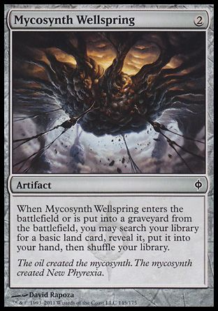 Mycosynth Wellspring, New Phyrexia