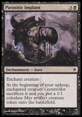 Parasitic Implant, New Phyrexia