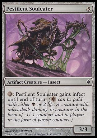 Pestilent Souleater, New Phyrexia