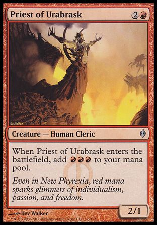 Priest of Urabrask, New Phyrexia