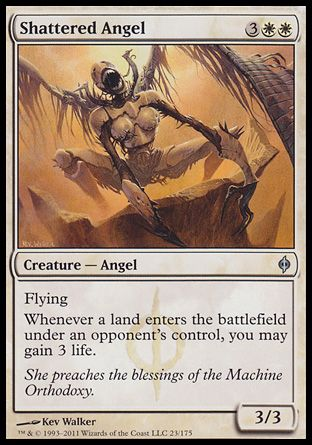 Shattered Angel, New Phyrexia