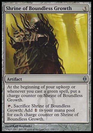 Shrine of Boundless Growth, New Phyrexia
