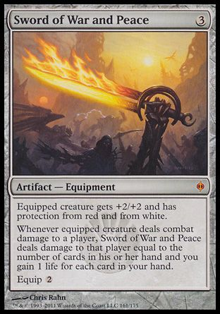 Sword of War and Peace, New Phyrexia