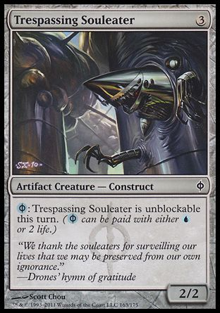 Trespassing Souleater, New Phyrexia