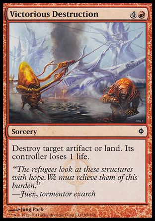 Victorious Destruction, New Phyrexia