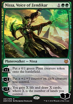 Nissa, Voice of Zendikar, Nissa vs Ob Nixilis