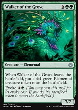 Walker of the Grove, Nissa vs Ob Nixilis