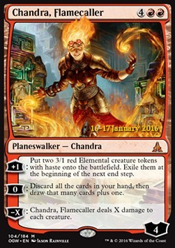 Chandra, Flamecaller, Oath of the Gatewatch Promos